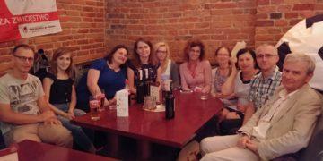 Social networking uczestników - w Browarze Tychy